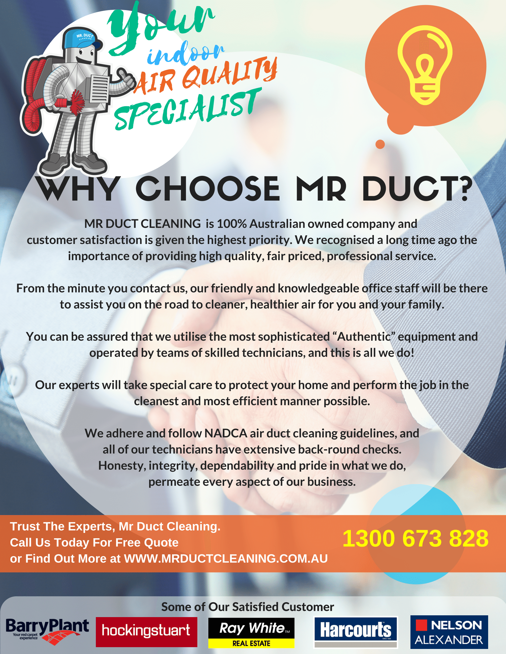 Duct Cleaning Melbourne From 10 Per Duct Mr Duct Cleaning