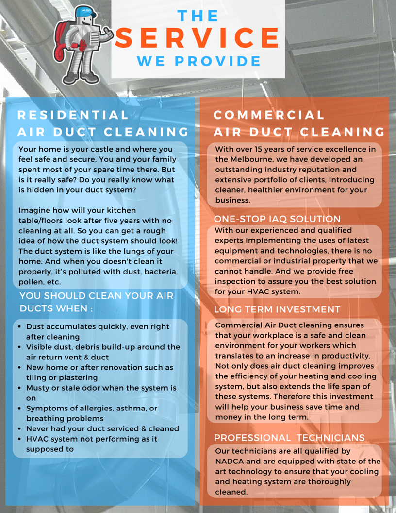 Duct cleanign winter special