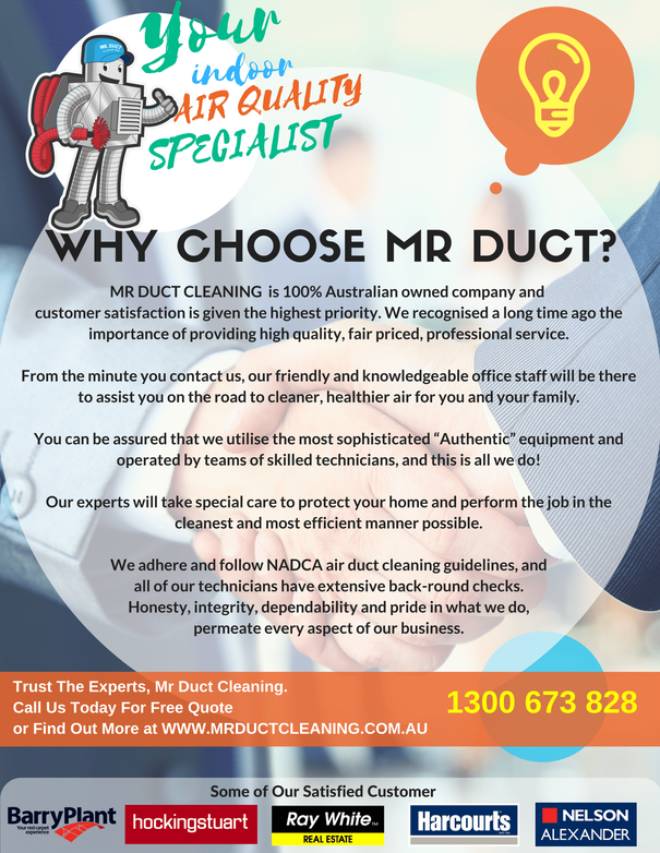 Why Choose Mr Duct