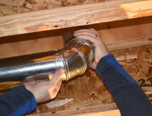 how to dryer vent pipe024
