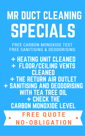 Duct Cleaning Melbourne winter special
